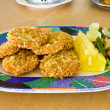 Curried fish cake — Stock Photo