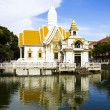Stock Photo: Wat Chaimongkon with water reflect