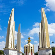 Stock Photo: Democracy monument in Bangkok, Thailand