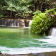 Stock Photo: Waterfall named Chet Sao Noi