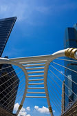Public Skywalk in bangkok — Stock Photo