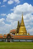 Thai temple in Grand Palace, Bangkok — Stock Photo