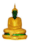 Emerald Buddha for winter — Stock Photo