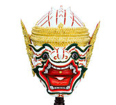 Hanuman mask in Khon Thai classical style — Stock Photo