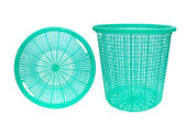 Empty plastic basket — Stock Photo