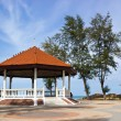 Public house pavilion near sea — Foto Stock #40685217