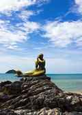 Mermaid statue — Stock Photo
