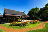 Doi Tung palace in Chiangrai with sunny day — Stock Photo