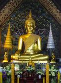 Buddha image in Wat Suan Dok, Chiang Mai — Stock Photo