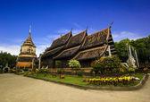 Wat Lok Moli temple — Stock Photo