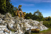 Jade Emperor statue — Stock Photo