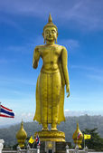 Buddha image staue in Hatyai — Stock Photo