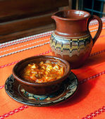 Traditional bulgarian food — Stock Photo