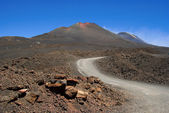 The road to Etna — Stock Photo