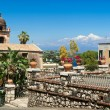 View of Taormina. Sicily — Stock Photo