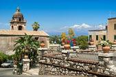 View of Taormina. Sicily — Stock Photo