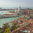 Basilica di Santa Maria della Salute view, Venice — Stock Photo