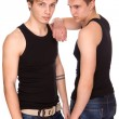 Two guys - Stock Photo
