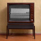 TV and television — Stock Photo