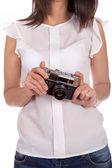 Film camera — Stok fotoğraf