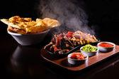 Fajita quente — Fotografia Stock