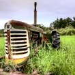Old Vintage Farm Equipment — Stock Photo