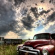Storm Clouds Saskatchewan — Stock Photo #14499621