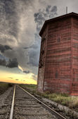 Storm Clouds Saskatchewan — Stock Photo