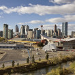 Stock Photo: Calgary AlbertCanadSkyline