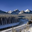 Rocky Mountains in Winter — Stock Photo #19388165