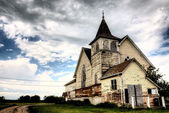 Old Abandoned Church — Stockfoto