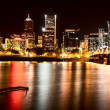 Night Shot Portland Oregon — Stock Photo