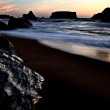Sunset Bandon Oregon — Stock Photo