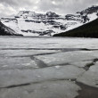 Cameron Lake in Winter — Stock Photo