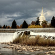 Idaho Falls — Stock Photo