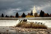 Idaho Falls — Stock Photo