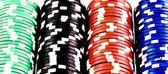 Fiches da poker — Foto Stock