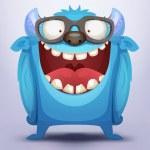Blue Monster — Stock Vector #25272721