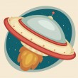 Flying Saucer — Image vectorielle