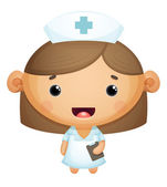 Nurse — Stock Vector