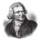 Antoine-Augustin Parmentier, vintage engraving. — Stock Vector