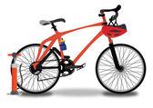 Race fiets, afbeelding — Stockvector