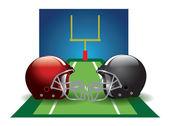 Football, illustration — Stock Vector