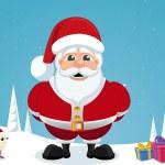 Santa Claus, illustration — Stock Vector #16193623
