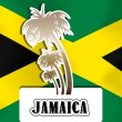 Jamaica, illustration — Stock Vector