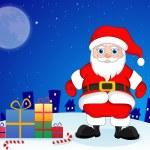 Santa Claus, illustration — Stock Vector #16193633