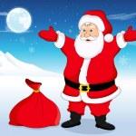 Santa Claus, illustration — Stock Vector #16193681