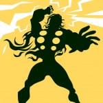 ������, ������: Thor illustration
