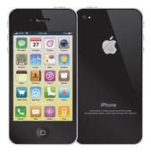 Iphone, farbe abbildung — Stockvektor