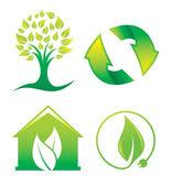 Environment, illustration — Stock Vector